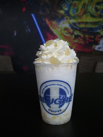 Blugre Coffee: blugre passion fruit blast