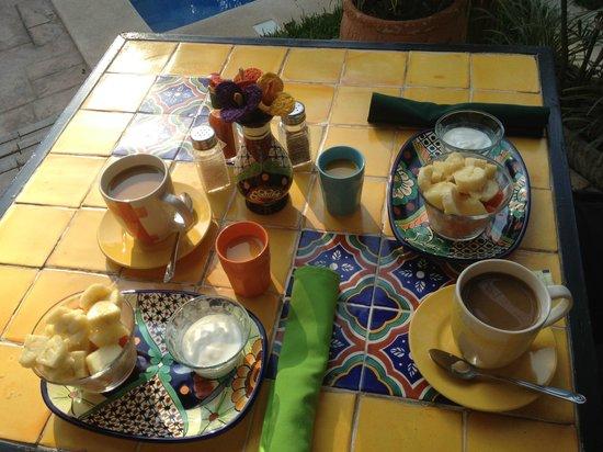 Casa Del Maya: Teil I des Frühstücks ;-)