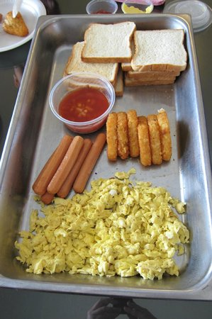 Sunflower House: Daily Breakfast Delivered to the House