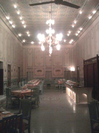 Bhanwar Niwas: Salle à manger