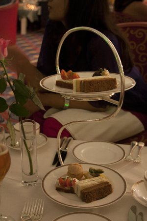 Skyview Bar : one of the many courses of High Tea
