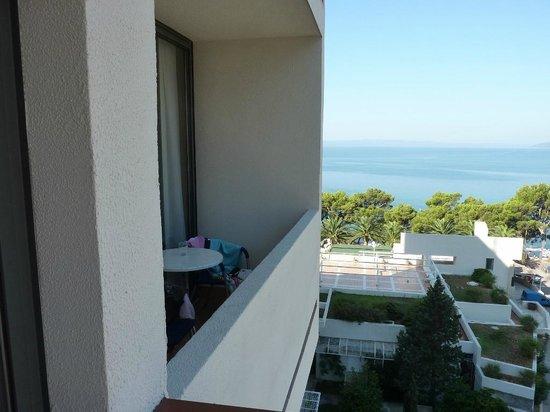 Hotel Meteor: Widok z pokoju z widokiem na morze