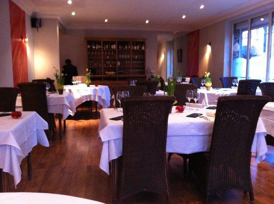 Le Musigny : salle du restaurant