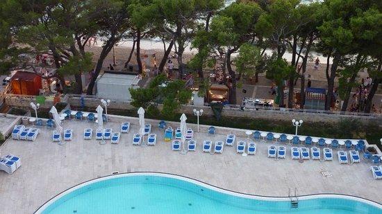 Hotel Meteor: Widok z pokoju od strony morza