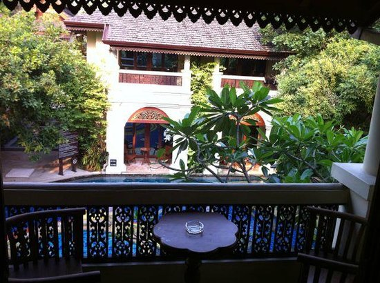 Khum Phaya Resort & Spa, Centara Boutique Collection: View from the balcony overlooking the pool