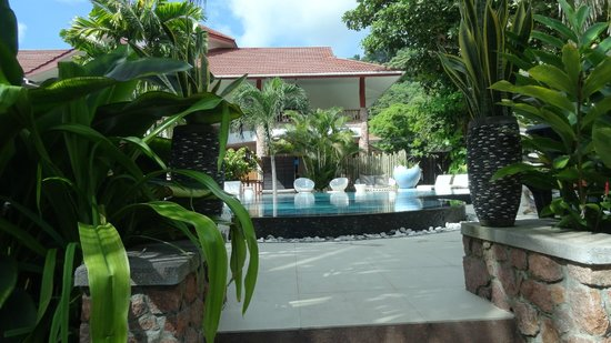 Le Duc de Praslin: The pool