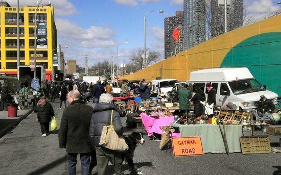 The Annex / Hell's Kitchen Flea Market: Hell's Kitchen Flea Market, 23 March 2013