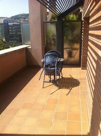 Hotel Amrey Sant Pau: Terrazza