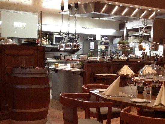 Althoff Hotel Am Schlossgarten: Restaurant Vinothek