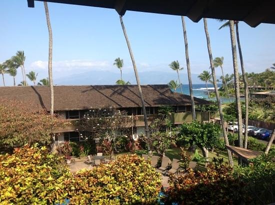 Napili Village: view from balcony 8
