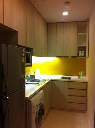 Somerset Ampang Kuala Lumpur: cocina