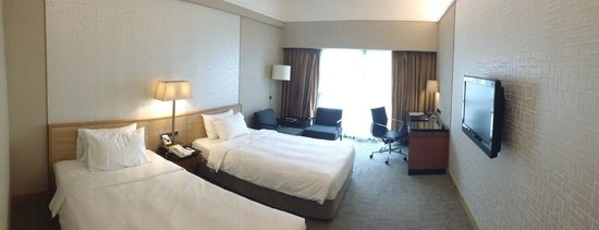Grand Mercure Singapore Roxy: Room Layout Superior Room New Look