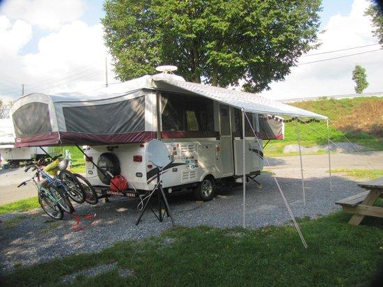 Hersheypark Camping Resort: Campsite