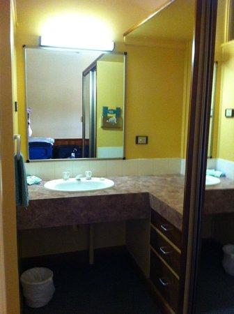 Village Family Motor Inn: Bathroom