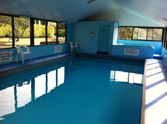 Village Family Motor Inn: Pool and spa