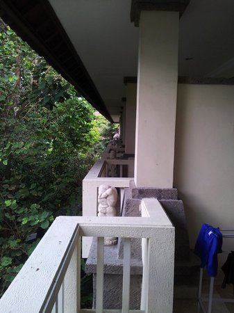 Hotel Kumala Pantai: View along Block NS