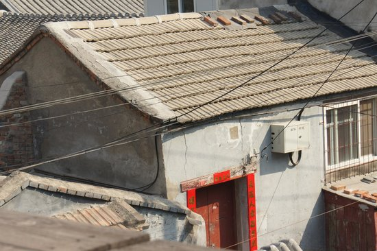 Kellys Courtyard: Rooftop - Hutong views