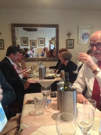 Dalkey, Irland: WCCC enjoying the lunch