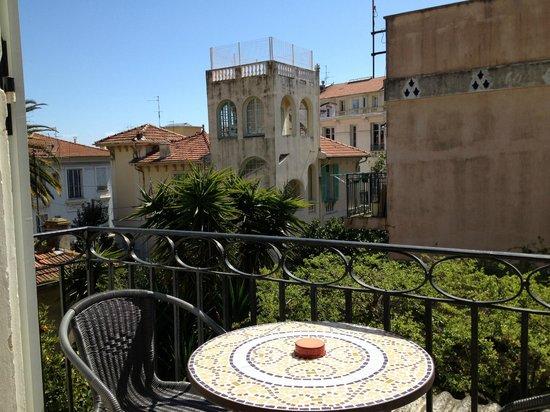 Hotel Villa Les Cygnes: Terrace