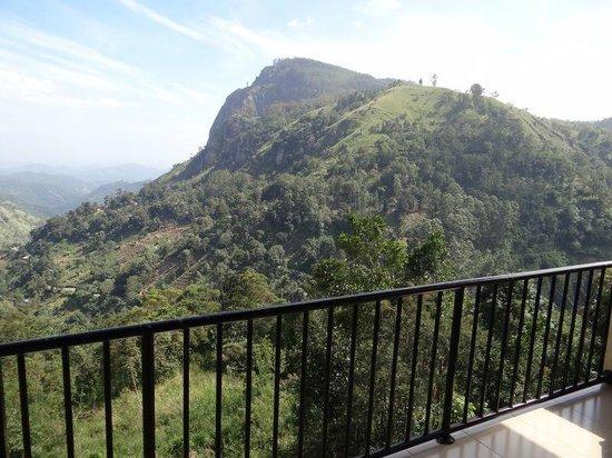 The Mountain Heavens: Vue depuis le balcon chambre No 7