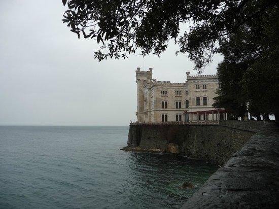 Castello di Miramare - Museo Storico : Panoramica