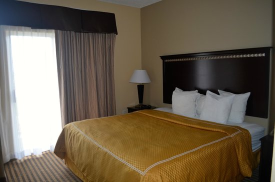 Comfort Suites DFW Airport: Bedroom