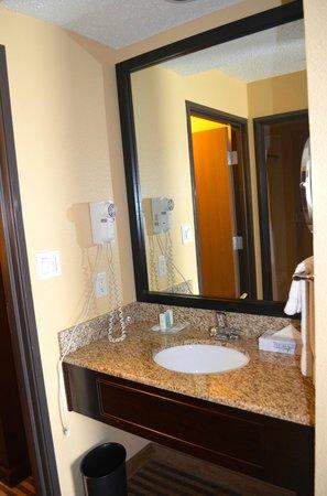 Comfort Suites DFW Airport: Vanity