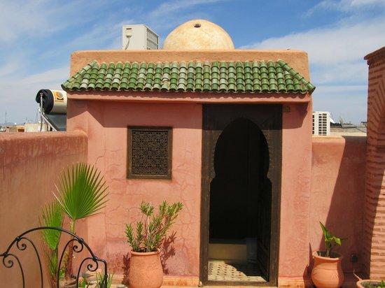 Riad Bahja: rooftop