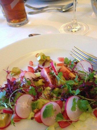 Trelaske Hotel & Restaurant: Fantastic food!