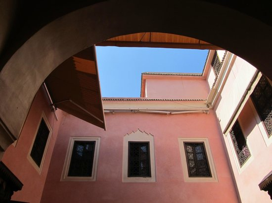 Riad Bahja: view from the patio