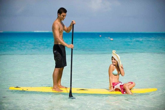Hilton Moorea Lagoon Resort & Spa: Water Activity - Paddle Boards