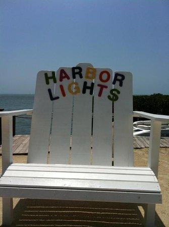 Harbor Lights Motel: great chair...