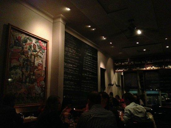 Punch Lane: The wine list is written on a chalk board!