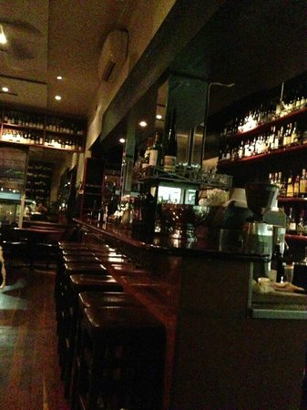 Punch Lane: The bar.