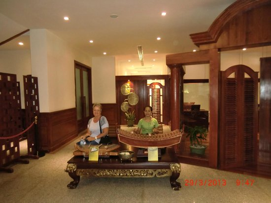 The Privilege Floor @Borei Angkor: Ground Floor Reception Area