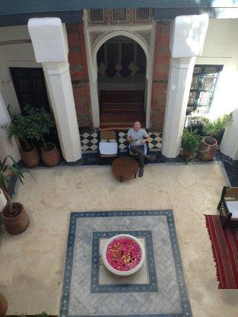 Dar el Qadi : The courtyard of the Dar