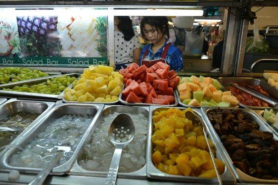 Thanin Market : Salad bar
