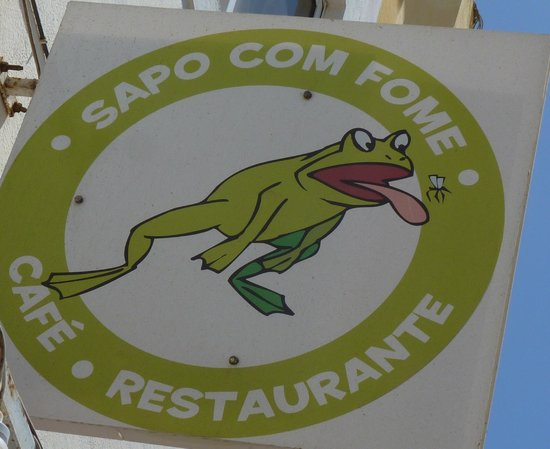 'Sapo com fome' The Hungry Frog: The Hungry Frog