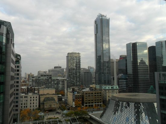 The Ritz-Carlton, Toronto: Panorama dalla camera