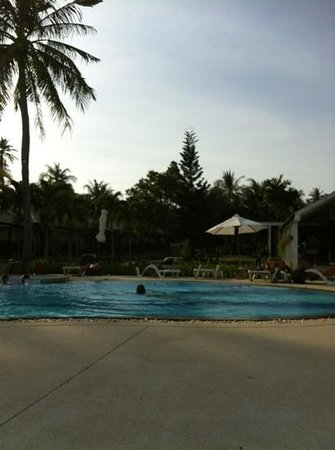Centra by Centara Coconut Beach Resort Samui: the big pool