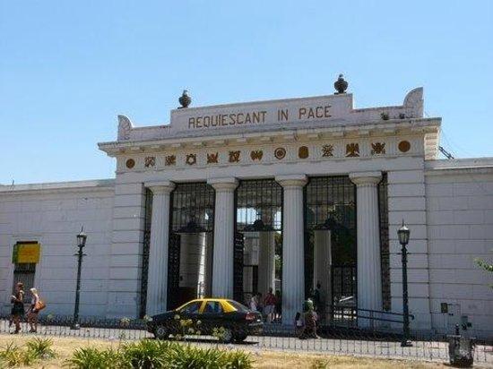 Museo Usina Molet: cimetière de recoleta