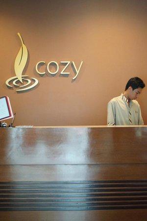 COZY Boutique Guest House: Reception