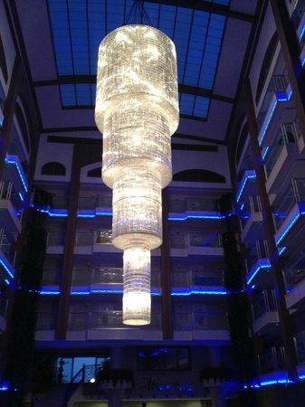 White Gold Hotel & Spa: Jäkligt fin lampa