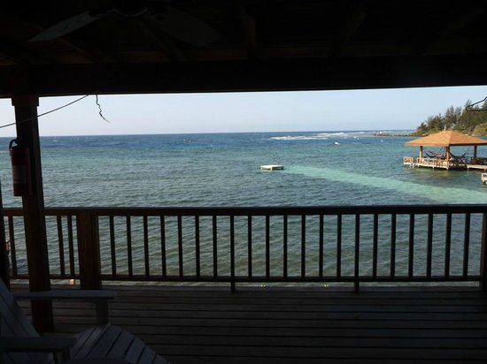 CoCo View Resort: View from Room 14