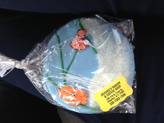 Deising's Bakery, Restaurant, and Catering: Ocean Cookie!