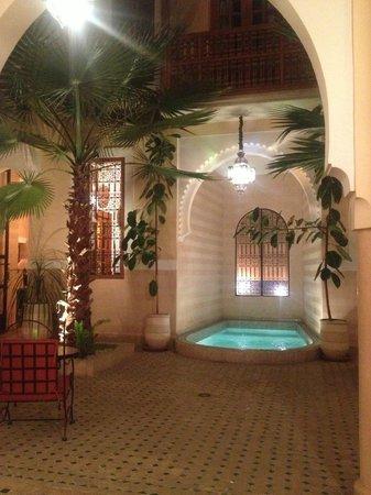 Riad RabahSadia: Le patio