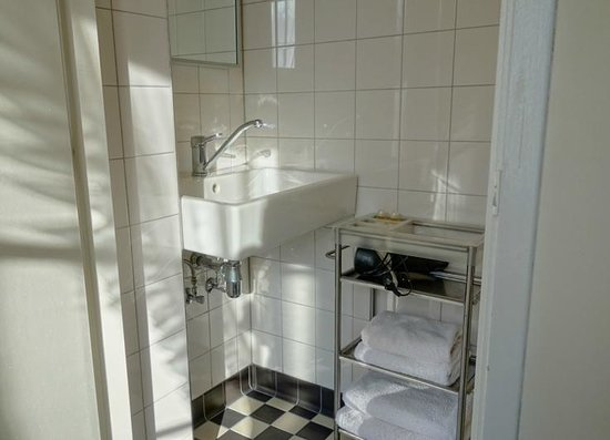 Hotel Keizershof: The bathroom