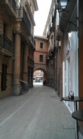 Plaza Julian Romea : A side street of Plaza de Romea