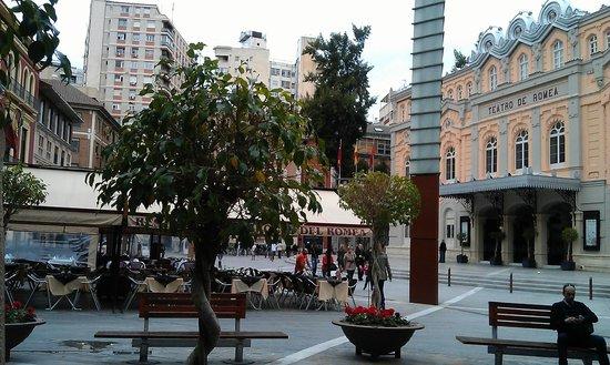 Plaza Julian Romea : Plaza de Romea