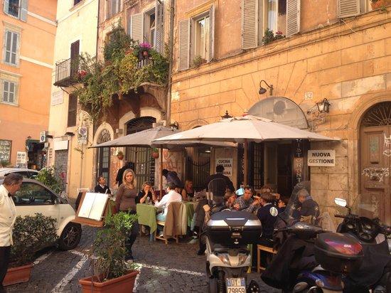 Elle effe restaurant roma navona pantheon campo de for Ristorante elle roma